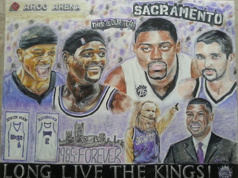 The Sacramento Kings- Past, Present, Future by sjhorner