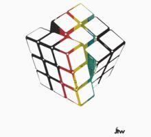rubix cube t-shirt design  by jackthewebber