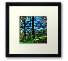 life on earth Framed Print