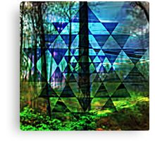 life on earth Canvas Print