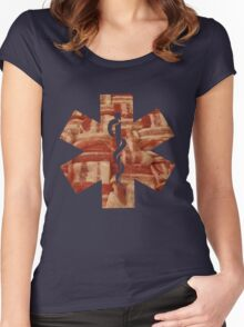 EMT Women's Fitted Scoop T-Shirt