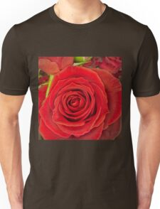 Love is a red rose Unisex T-Shirt