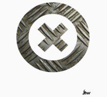 Circle steel T-shirt by jackthewebber