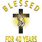 Religious 40th Birthday Gift by thepixelgarden