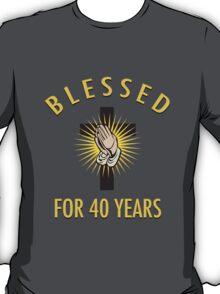 Religious 40th Birthday Gift T-Shirt