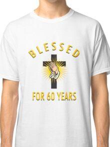 Religious 60th Birthday Gift Classic T-Shirt