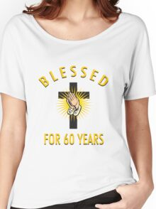 Religious 60th Birthday Gift Women's Relaxed Fit T-Shirt