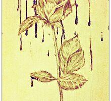 """""""Bleeding Rose"""" by SumnerLee"""