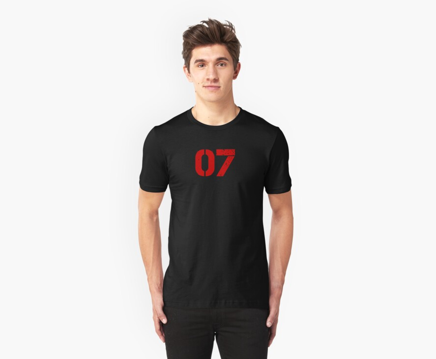 "The number ""07"" by BroadcastMedia"