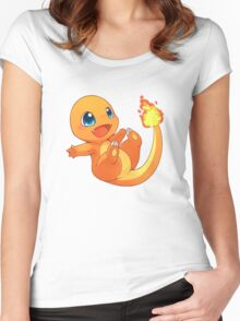 Chibi charander Women's Fitted Scoop T-Shirt