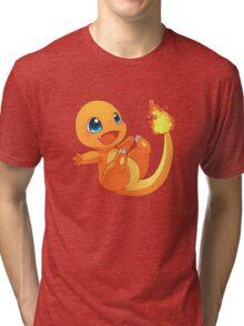 Chibi charander Tri-blend T-Shirt