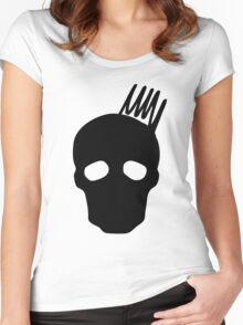 Olympus Skull Women's Fitted Scoop T-Shirt