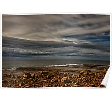 Terrigal Clouds Poster