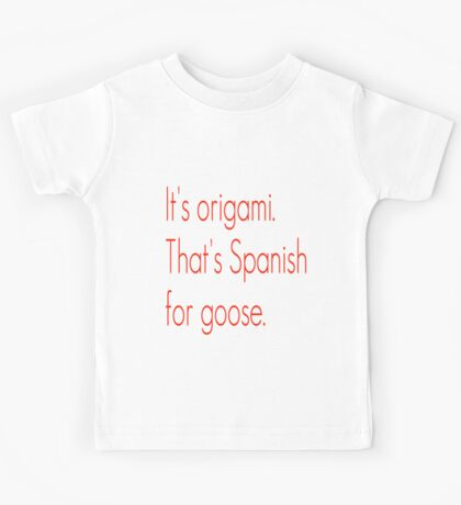 SNL Girl You Wish You...Party Goose Quote Kids Tee
