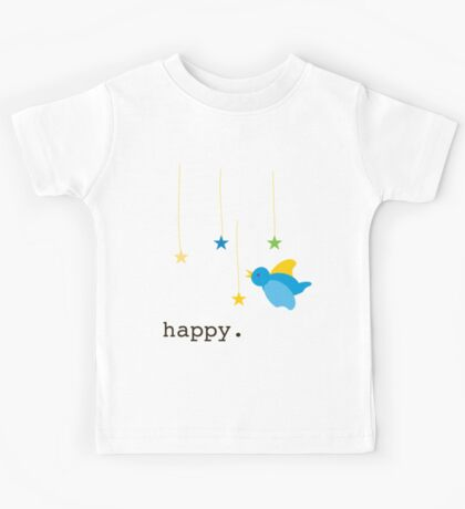 Happy bird Kids Tee