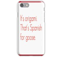 SNL Girl You Wish You...Party Goose Quote iPhone Case/Skin