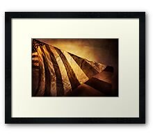 Twisting Glory Framed Print