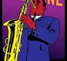 John Coltrane by Rich Anderson