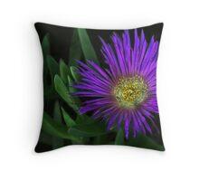 Purple Glow Throw Pillow