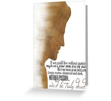 Angelus  Greeting Card