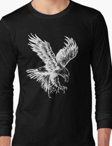 Bald Eagle (White) Long Sleeve T-Shirt