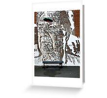 Graffiti Art Of VHILS Greeting Card
