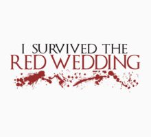 I Survived The Red Wedding Sticker by Blinky2lame