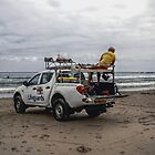 RNLI Lifeguards by Andrew Pounder