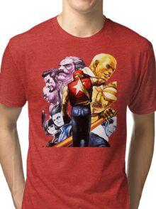 Fatal Fury Boss Rush Tri-blend T-Shirt