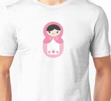Matryoskha Doll - Bubblegum Pink Unisex T-Shirt