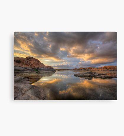 Granite Monsoon Canvas Print