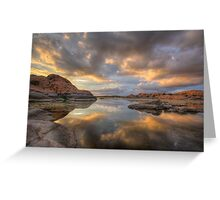 Granite Monsoon Greeting Card
