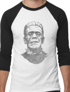 Franky goes to the Hollywood Cemetary Men's Baseball ¾ T-Shirt