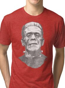 Franky goes to the Hollywood Cemetary Tri-blend T-Shirt