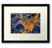 Brisbane Nightlife Framed Print