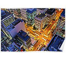 Brisbane Nightlife Poster