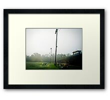 Wildcat Stadium Framed Print