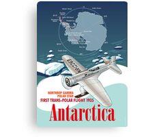 Antarctica Northrop Gamma Canvas Print