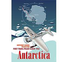 Antarctica Northrop Gamma Photographic Print