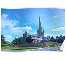 Snettisham Church Steeple Poster