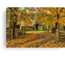 Autumn Dreams - Walwa Victoria - The HDR Experience Canvas Print