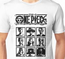 One Piece Straw Hat's Nakamas Unisex T-Shirt