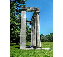 The Colonnade At Princeton Battlefield Photographic Print