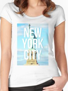 liberty. Women's Fitted Scoop T-Shirt