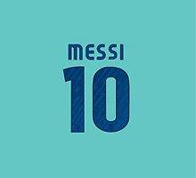 Messi Jersey iPhone/iPad Case by TheTubbyLife