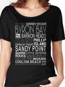 Aussie Beaches Women's Relaxed Fit T-Shirt
