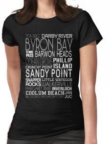 Aussie Beaches Womens Fitted T-Shirt