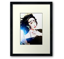 Cool as . . .  Self Portrait Framed Print