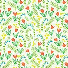 Floral meadow by veverka