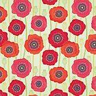Poppies field by veverka